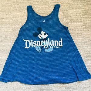 Blue Disney Tank Top